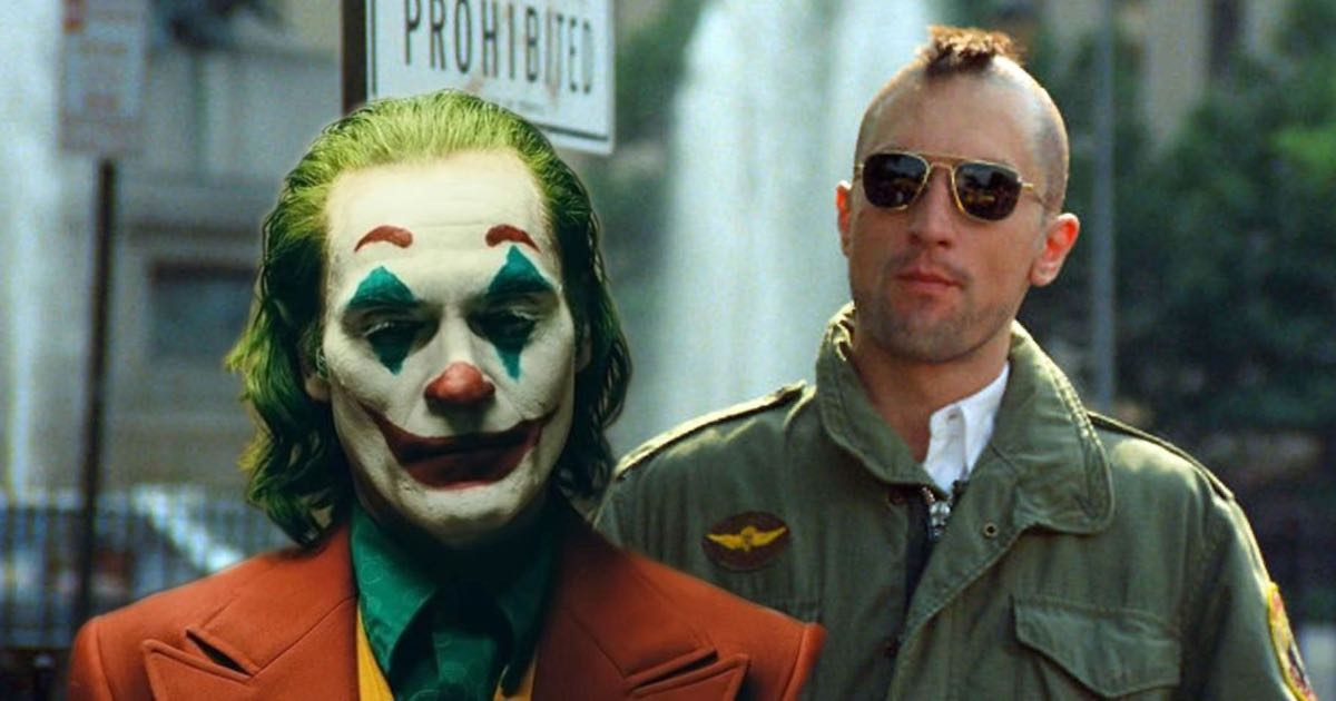 Joker and Taxi Driver
